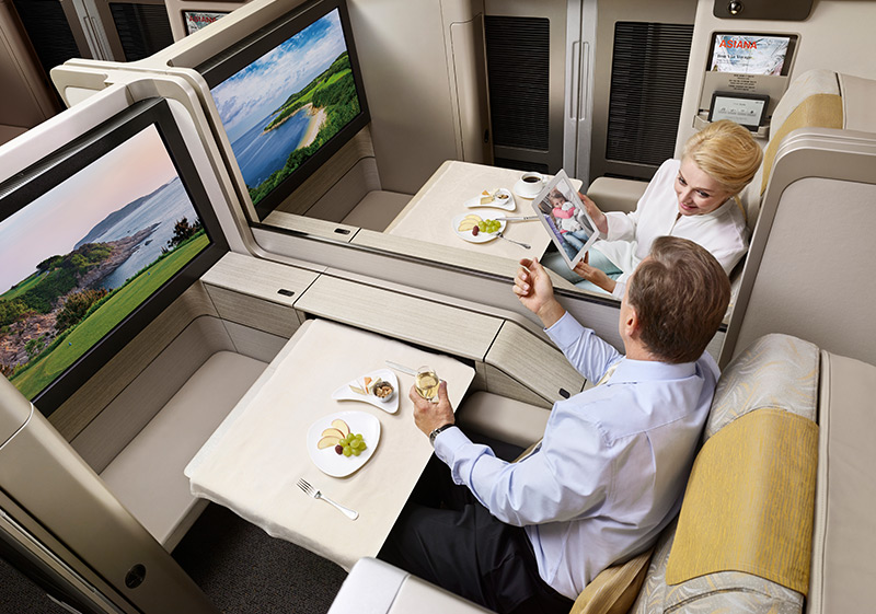 Asiana Airlines One-Way-Upgrade Service